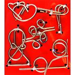 Hanayama Wire Puzzle Set - Red