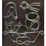 Hanayama Wire Puzzle Set - Brown image
