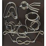 Hanayama Wire Puzzle Set - Brown