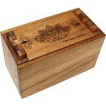 Secret Lock Box - Premium with Mandala Artwork image