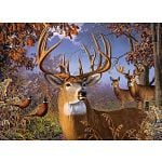 Deer and Pheasant - Large Piece image
