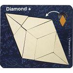 Diamond + - Krasnoukhov's Amazing Packing Problems image