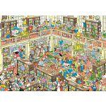 Jan van Haasteren Comic Puzzle - The Library image