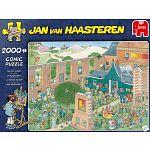 Jan van Haasteren Comic Puzzle - The Art Market