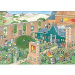 Jan van Haasteren Comic Puzzle - The Art Market image
