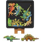 Herbivore Dinosaurs - Wooden Packing Puzzle