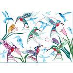 Garden of Hummingbirds image