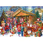Christmas Limited Edition Puzzle - This Way to Santa image