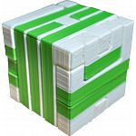 Impossible Cube 1 (Green and White) image