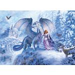 Ice Dragon - Family Pieces Puzzle image