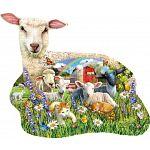 Lamb Shop - Shaped Jigsaw Puzzle image