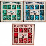 10 Metal Puzzles - Set of 4