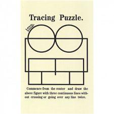 Tracing Puzzle - Trade Card -
