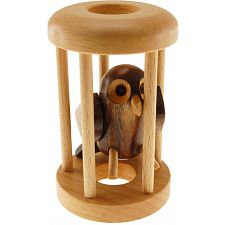 Owl in a Cage -