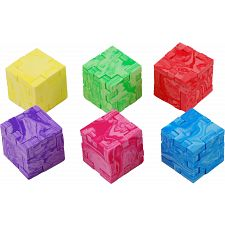 Marble Cube - 6-Pack -