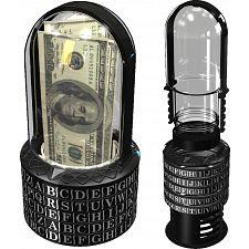 Puzzle Pod Cryptex - Brain Teaser Puzzle & Coin Bank -