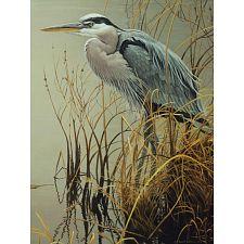 Great Blue Heron - Large Piece -