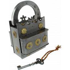 Crown Iron Puzzle Lock -
