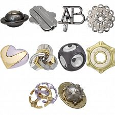 Group Special - a set of 9 Hanayama's NEW puzzles -