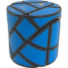 Ghost Hedgehog - Black Body with Blue Labels - in Hex Box -