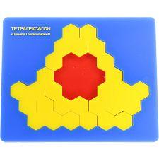 Tetrahexagons -