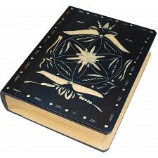 Romanian Secret Book Box - Dark Blue -