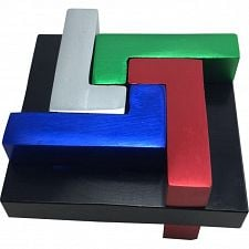 Quad L - Metal Puzzle -