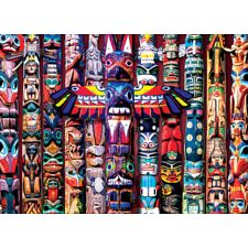 Totem Dreams - Large Piece Jigsaw Puzzle -