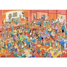 Jan van Haasteren Comic Puzzle - The Magic Fair -