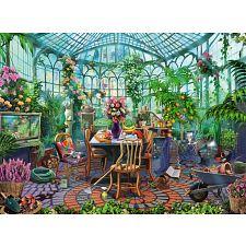 Greenhouse Morning -