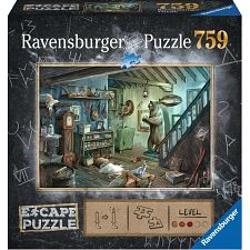 Escape Puzzle: The Forbidden Basement -
