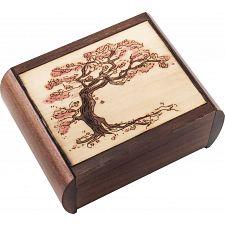 Tree Puzzle Box -