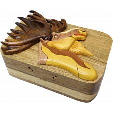 Moose Head - 3D Puzzle Box -