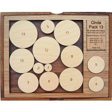 Circle Pack 13 -