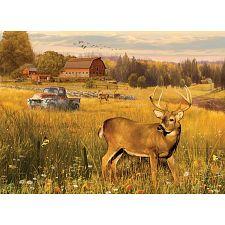 Deer Field - Large Piece -