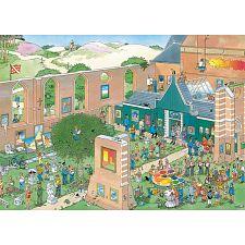 Jan van Haasteren Comic Puzzle - The Art Market -