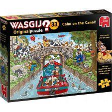 Wasgij Original #33: Calm on the Canal -