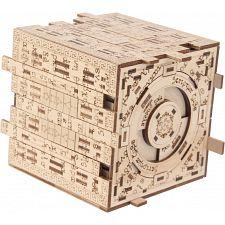 Scriptum Cube - Wooden DIY Puzzle Box Kit -