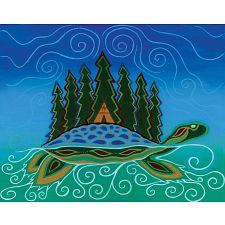 Turtle Island - Large Piece -
