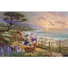 Thomas Kinkade: Disney - A Duck Day Afternoon -