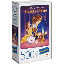 Blockbuster Movie Poster Puzzle - Beauty and the Beast -