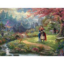 Thomas Kinkade: Disney - Mulan -