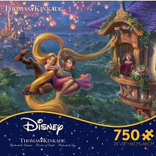 Thomas Kinkade: Disney - Tangled -
