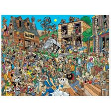 Comic Crowds - Western Town -