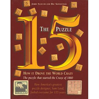 Cheap Puzzle Master The 15 Book Puzzle(PM00483)