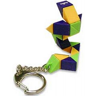 Puzzle Master Rubik's Micro Snake Keychain Puzzle(PM00508)