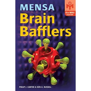 Picture of Puzzle Master Mensa Brain Bafflers - Book Puzzle(PM00852) (Challenging Puzzles)