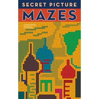 Picture of Puzzle Master Secret Picture Mazes - book Puzzle(PM00958) (Challenging Puzzles)