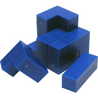 Cheap Puzzle Master Cube – Impuzzables : Blue Puzzle(PM01118)