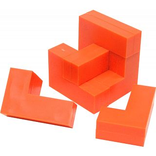 Puzzle Master Cube – Impuzzables: Orange Puzzle(PM01119)